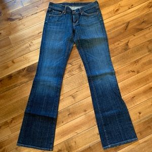 Citizens of Humanity Boot Cut Jeans Sz 28W 33L